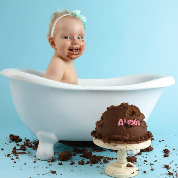 Baby Art Studio Cake Smash - 3 of 6